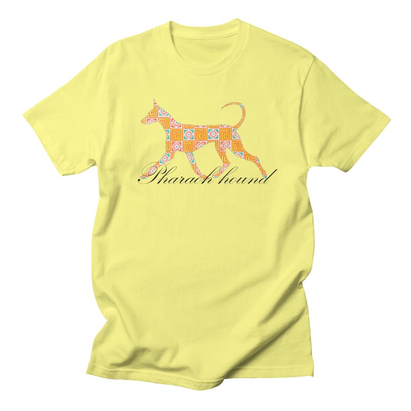 Pharaoh hound Men's T-Shirt by ArtPharie's Artist Shop