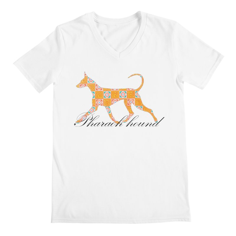 Pharaoh hound Men's V-Neck by ArtPharie's Artist Shop