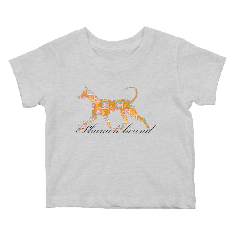 Pharaoh hound Kids Baby T-Shirt by ArtPharie's Artist Shop