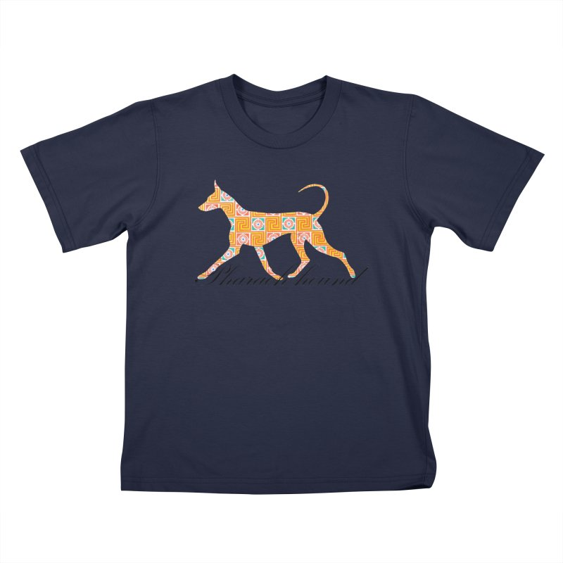 Pharaoh hound Kids T-Shirt by ArtPharie's Artist Shop