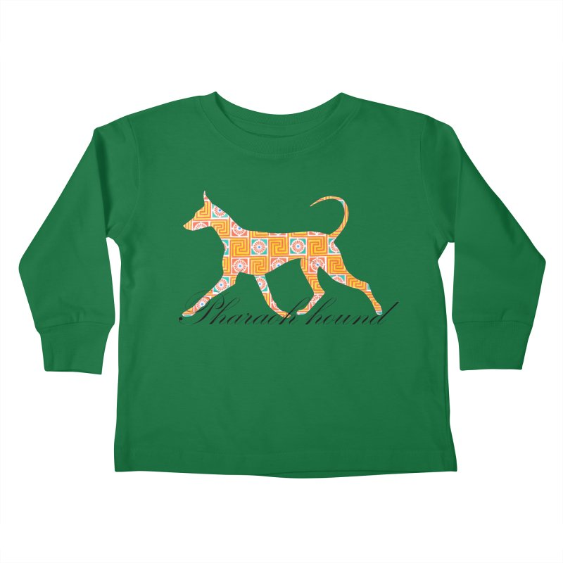 Pharaoh hound Kids Toddler Longsleeve T-Shirt by ArtPharie's Artist Shop