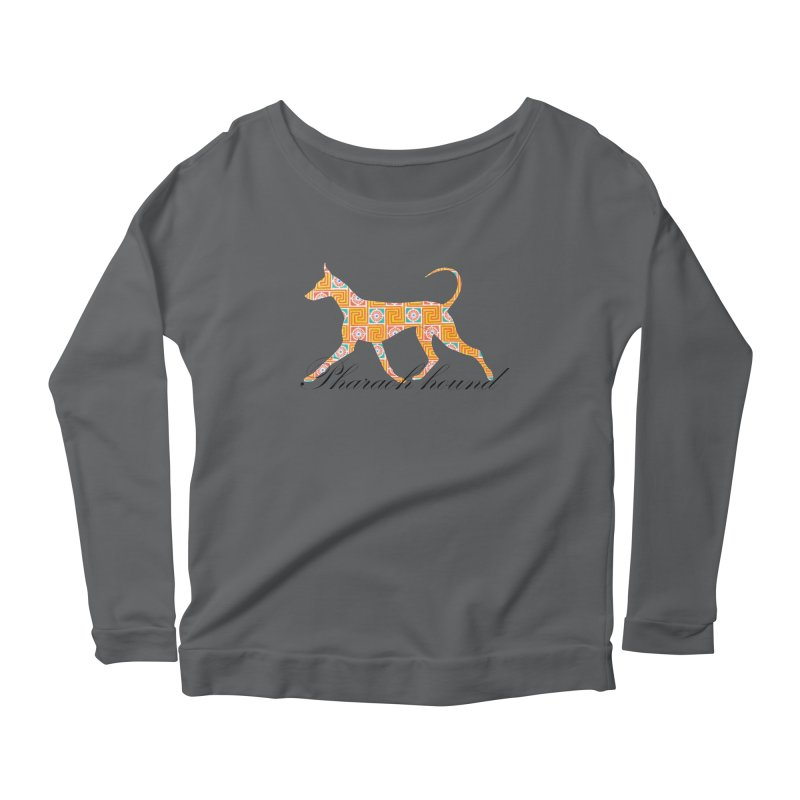 Pharaoh hound Women's Longsleeve T-Shirt by ArtPharie's Artist Shop