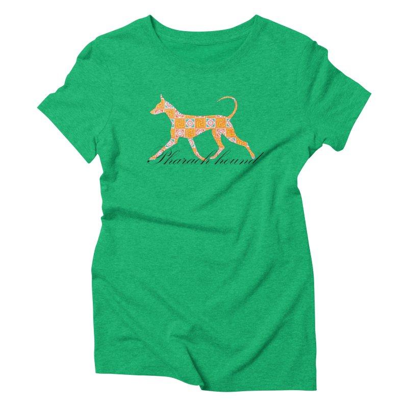 Pharaoh hound Women's Triblend T-Shirt by ArtPharie's Artist Shop
