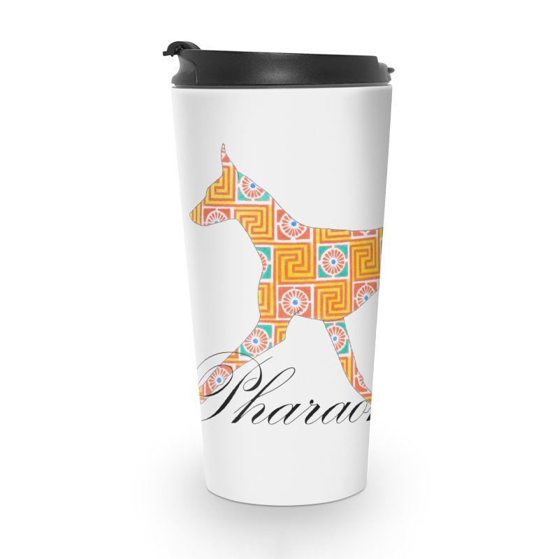 Pharaoh hound Accessories Travel Mug by ArtPharie's Artist Shop