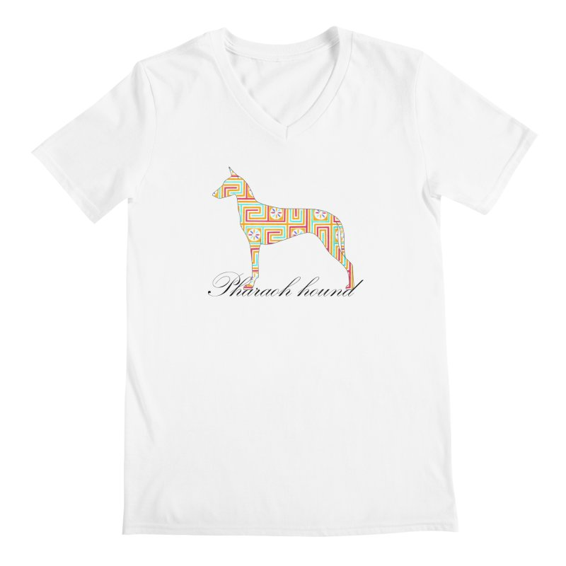 Pharaoh hound Men's V-Neck by ArtPharie's Artist Shop