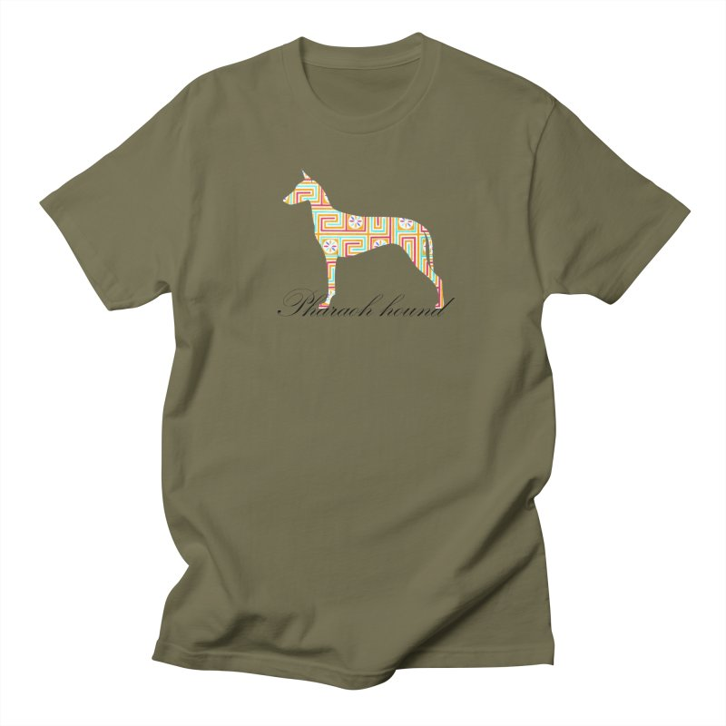 Pharaoh hound Men's Regular T-Shirt by ArtPharie's Artist Shop