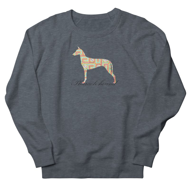 Pharaoh hound Women's French Terry Sweatshirt by ArtPharie's Artist Shop