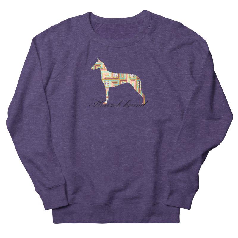 Pharaoh hound Men's French Terry Sweatshirt by ArtPharie's Artist Shop