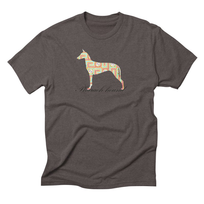 Pharaoh hound Men's Triblend T-Shirt by ArtPharie's Artist Shop