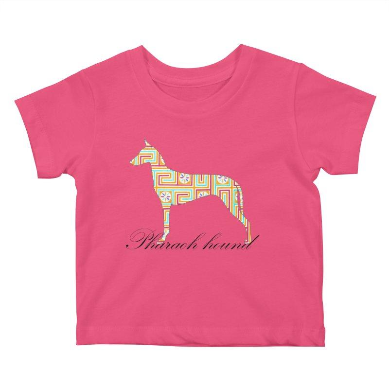 Pharaoh hound Kids Baby T-Shirt by ArtPharie's Artist Shop