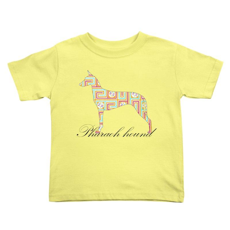Pharaoh hound Kids Toddler T-Shirt by ArtPharie's Artist Shop