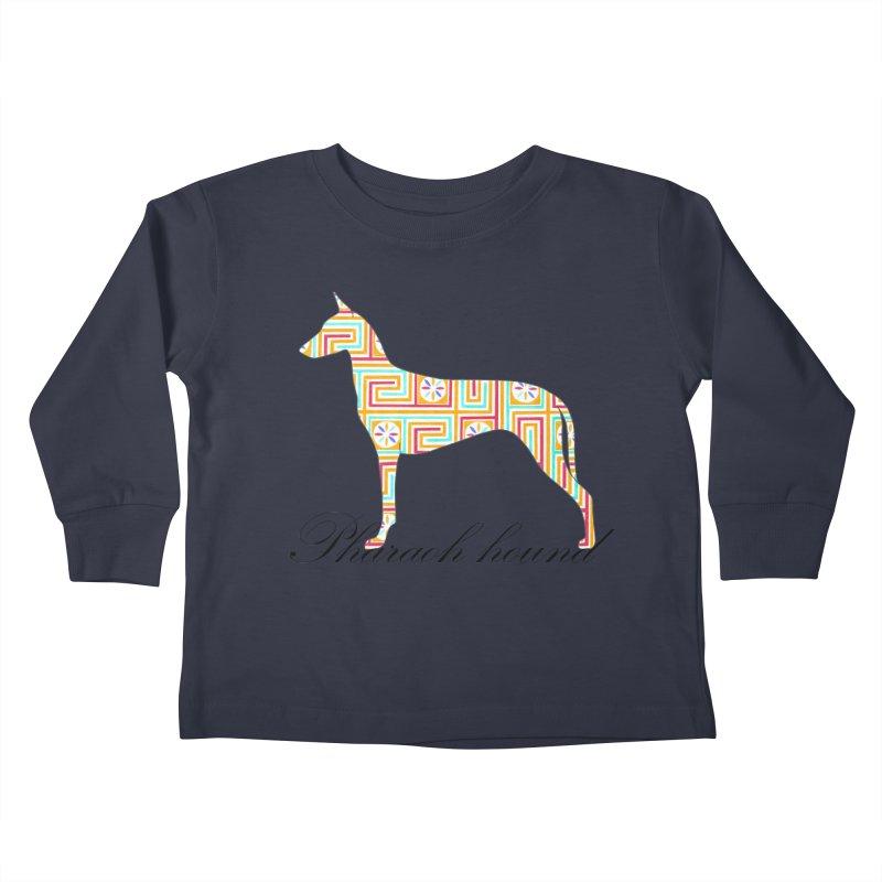 Pharaoh hound Kids Toddler Longsleeve T-Shirt by ArtPharie's Artist Shop