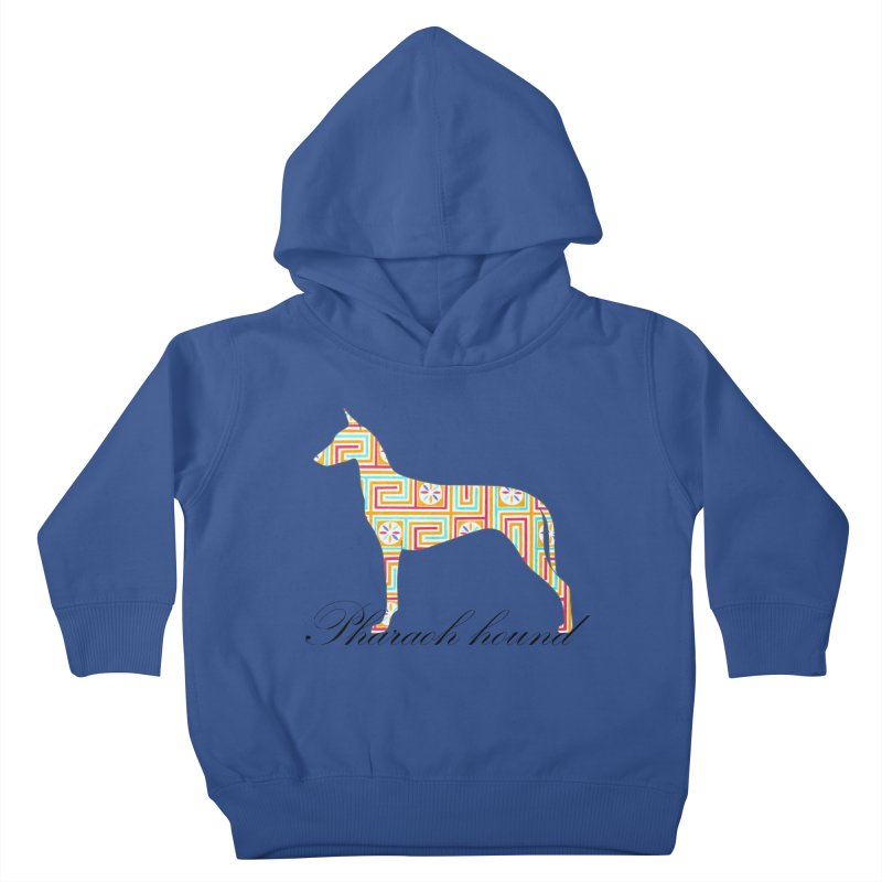 Pharaoh hound Kids Toddler Pullover Hoody by ArtPharie's Artist Shop