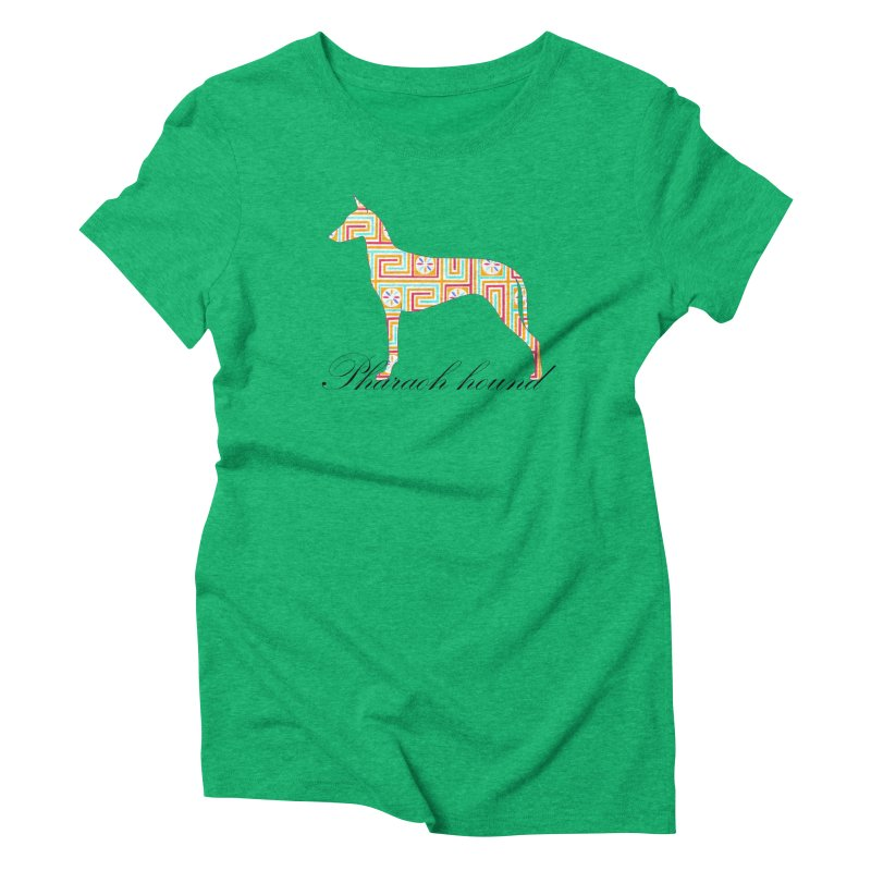 Pharaoh hound Women's Triblend T-Shirt by ArtPharie's Artist Shop