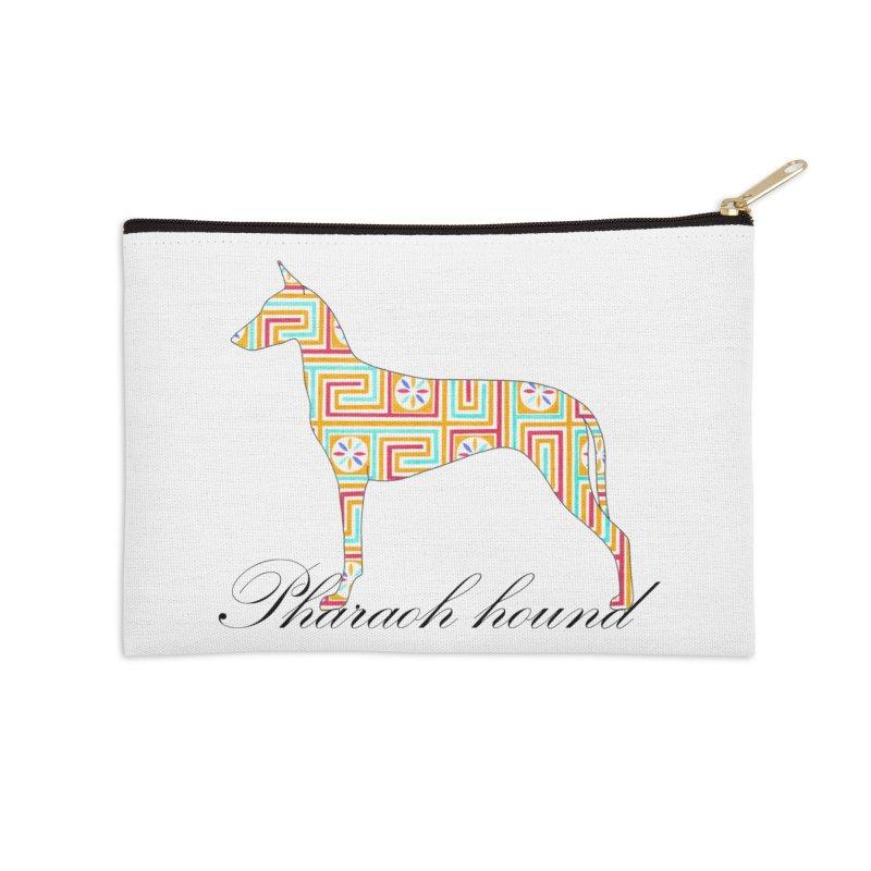 Pharaoh hound Accessories Zip Pouch by ArtPharie's Artist Shop