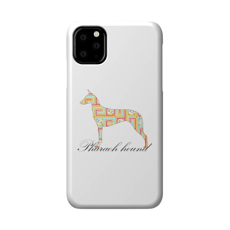 Pharaoh hound Accessories Phone Case by ArtPharie's Artist Shop