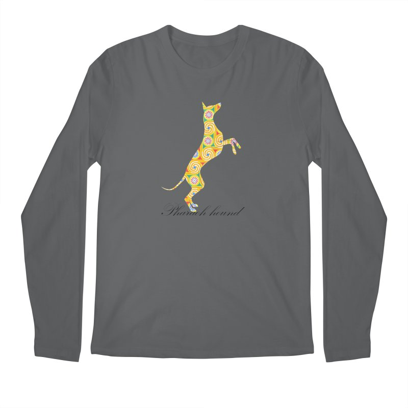 Pharaoh hound Men's Longsleeve T-Shirt by ArtPharie's Artist Shop
