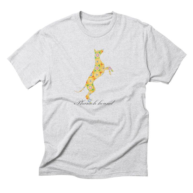 Pharaoh hound Men's Triblend T-Shirt by ArtPharie's Artist Shop