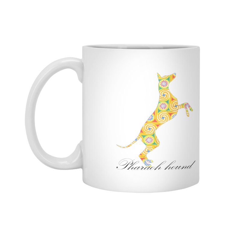 Pharaoh hound Accessories Mug by ArtPharie's Artist Shop