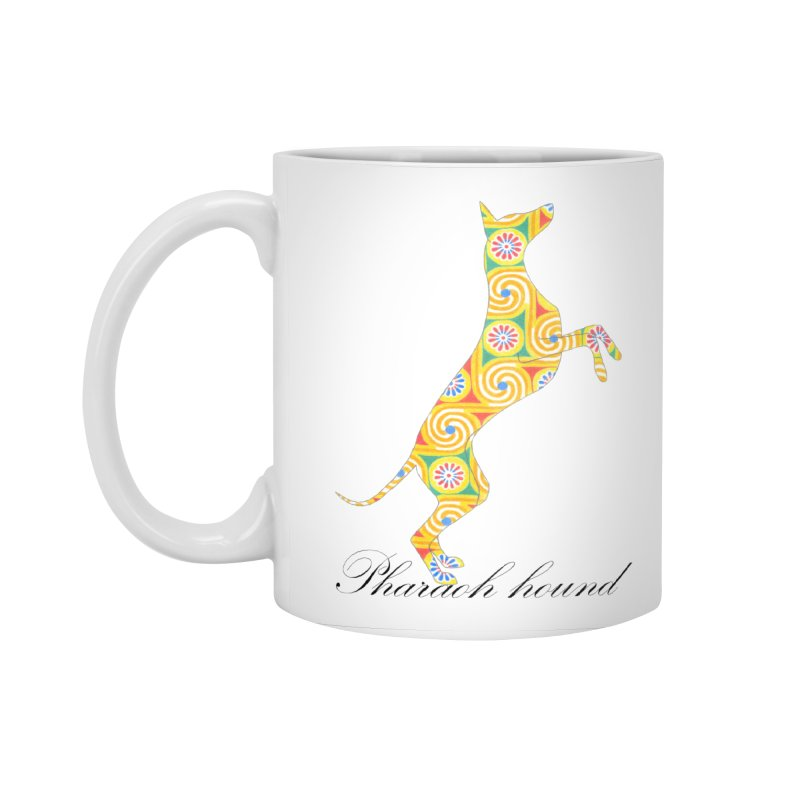 Pharaoh hound Accessories Standard Mug by ArtPharie's Artist Shop