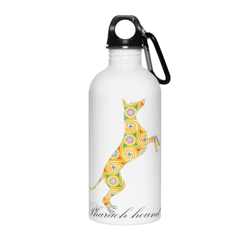 Pharaoh hound Accessories Water Bottle by ArtPharie's Artist Shop