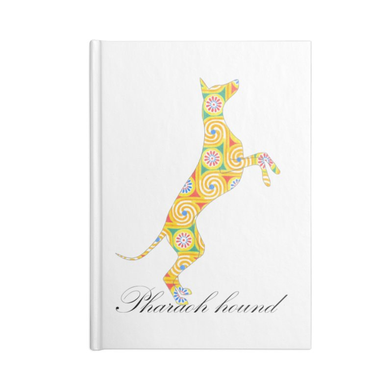 Pharaoh hound Accessories Notebook by ArtPharie's Artist Shop