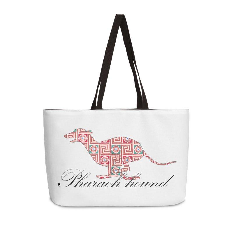 Pharaoh hound Accessories Weekender Bag Bag by ArtPharie's Artist Shop