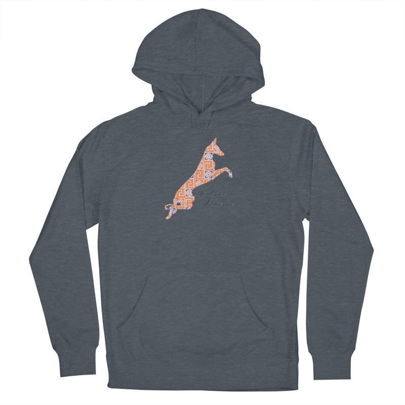 Ibizian hound Men's French Terry Pullover Hoody by ArtPharie's Artist Shop