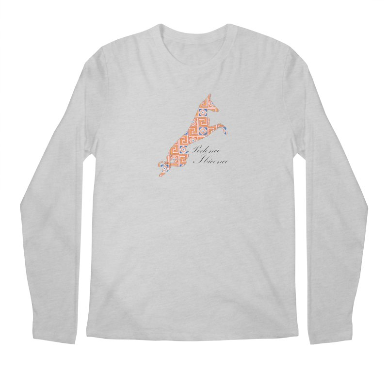 Ibizian hound Men's Regular Longsleeve T-Shirt by ArtPharie's Artist Shop