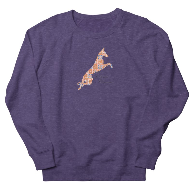 Ibizian hound Men's French Terry Sweatshirt by ArtPharie's Artist Shop