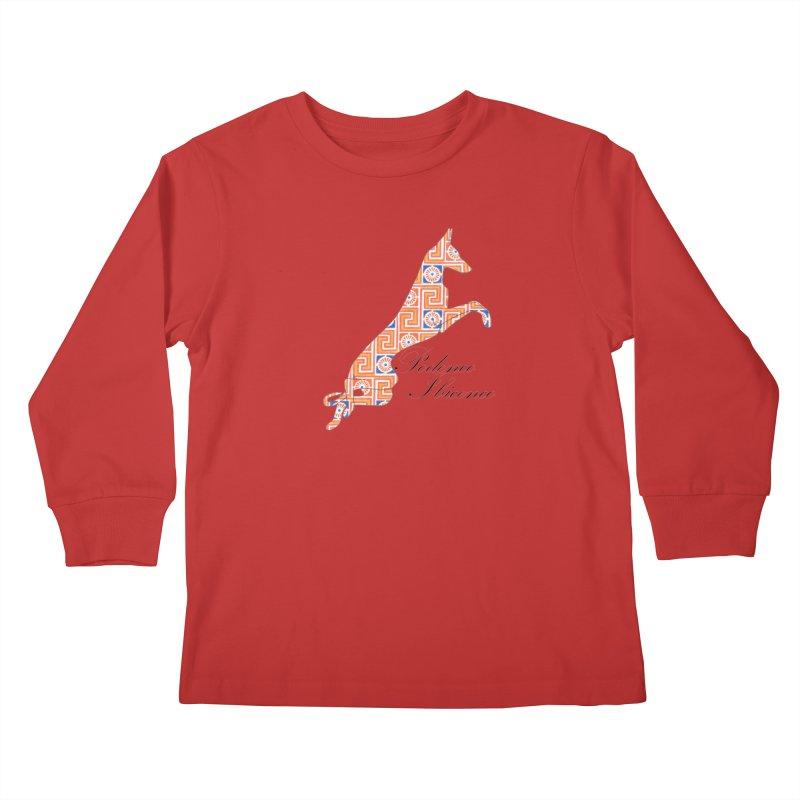 Ibizian hound Kids Longsleeve T-Shirt by ArtPharie's Artist Shop