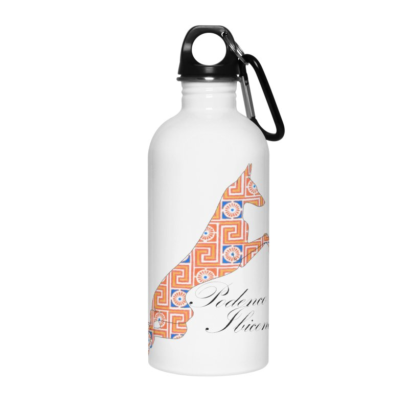 Ibizian hound Accessories Water Bottle by ArtPharie's Artist Shop