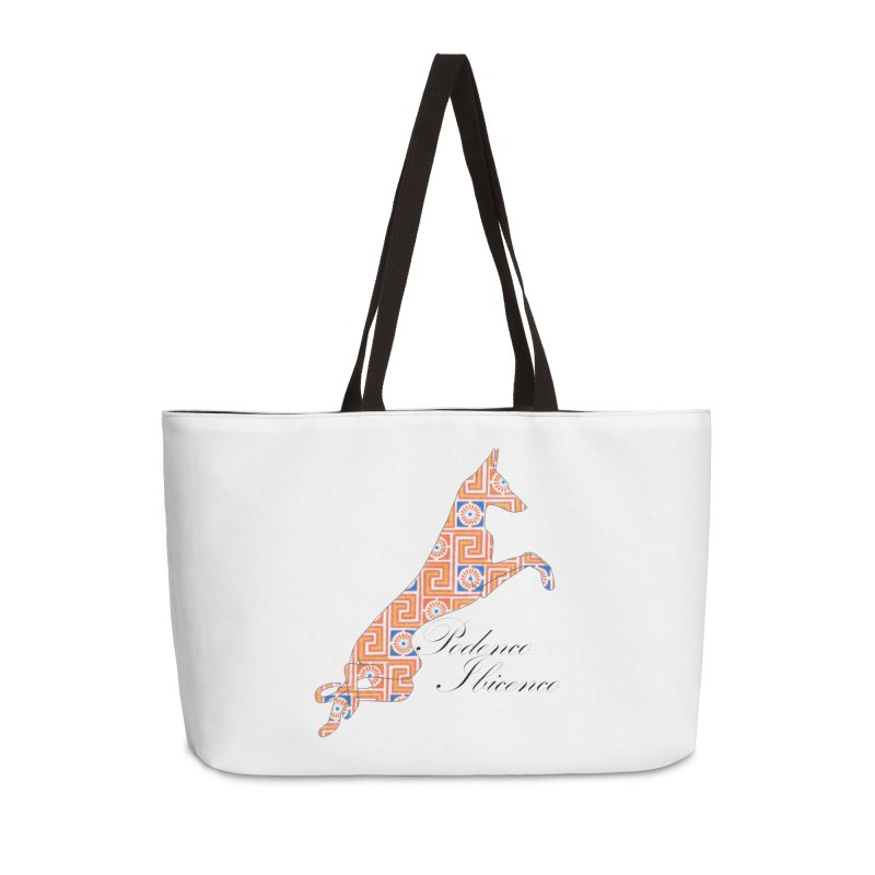 Ibizian hound Accessories Weekender Bag Bag by ArtPharie's Artist Shop
