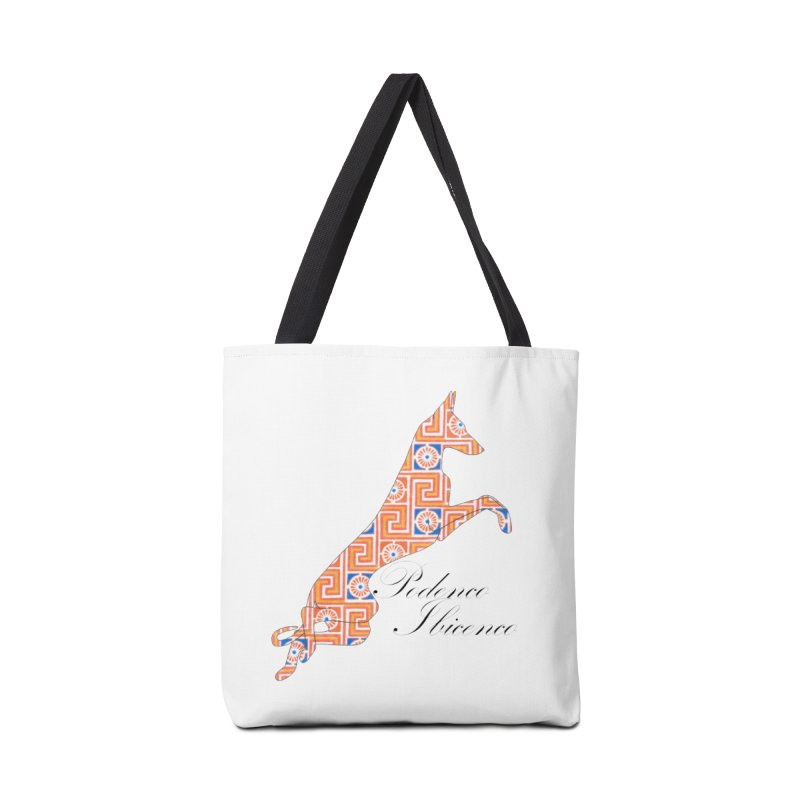 Ibizian hound Accessories Tote Bag Bag by ArtPharie's Artist Shop