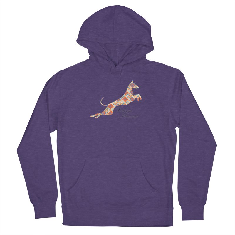 Ibizian hound Women's French Terry Pullover Hoody by ArtPharie's Artist Shop