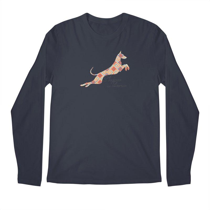 Ibizian hound Men's Regular Longsleeve T-Shirt by ArtPharie's Artist Shop