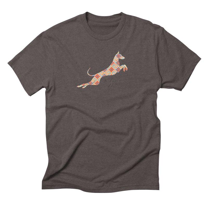 Ibizian hound Men's Triblend T-Shirt by ArtPharie's Artist Shop