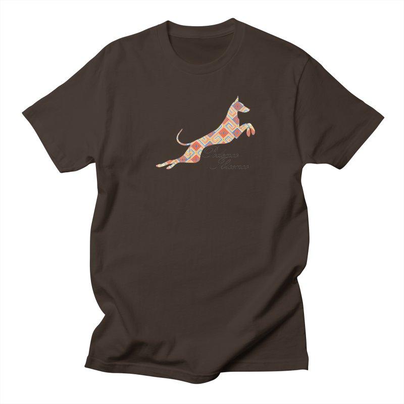 Ibizian hound Men's Regular T-Shirt by ArtPharie's Artist Shop