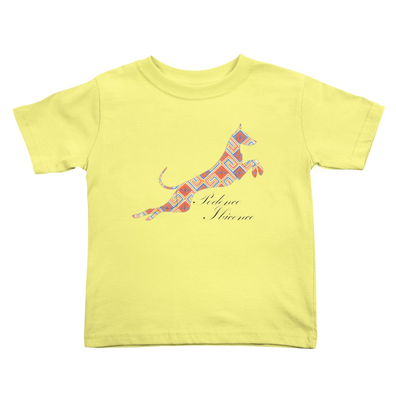 Ibizian hound Kids Toddler T-Shirt by ArtPharie's Artist Shop