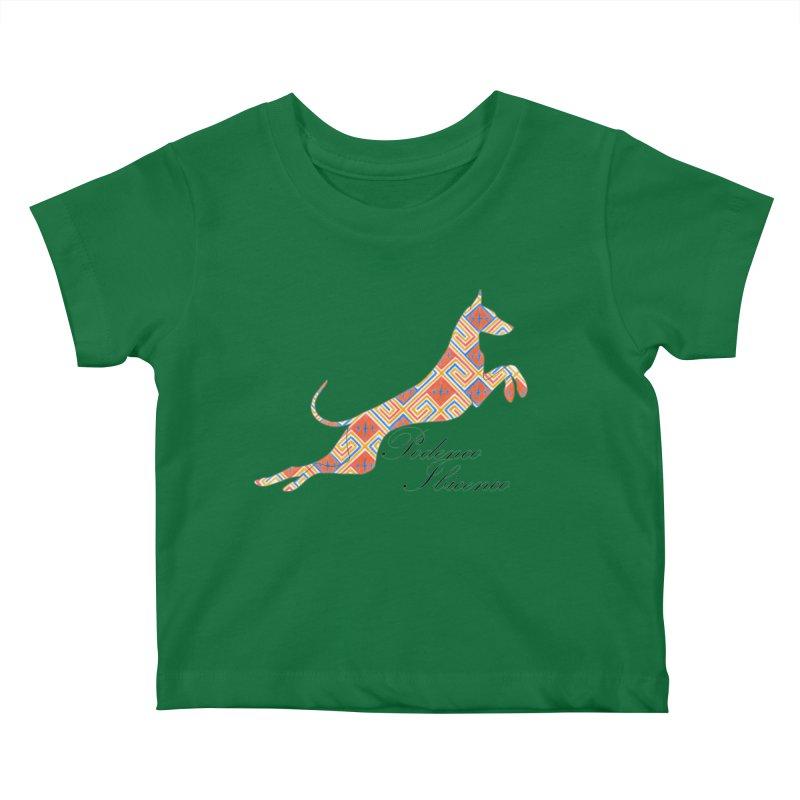 Ibizian hound Kids Baby T-Shirt by ArtPharie's Artist Shop