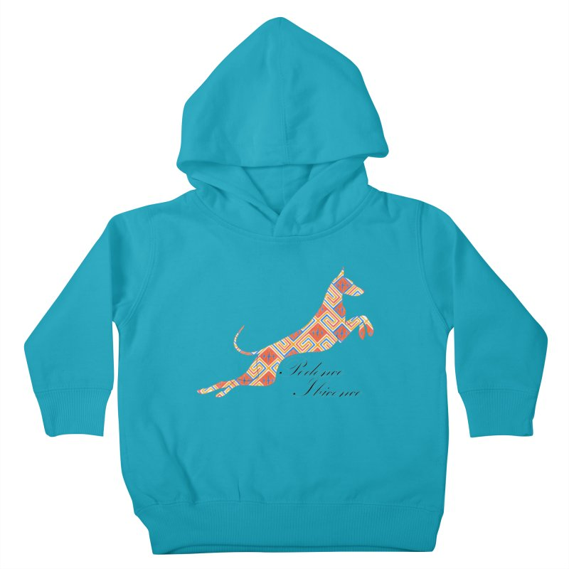 Ibizian hound Kids Toddler Pullover Hoody by ArtPharie's Artist Shop