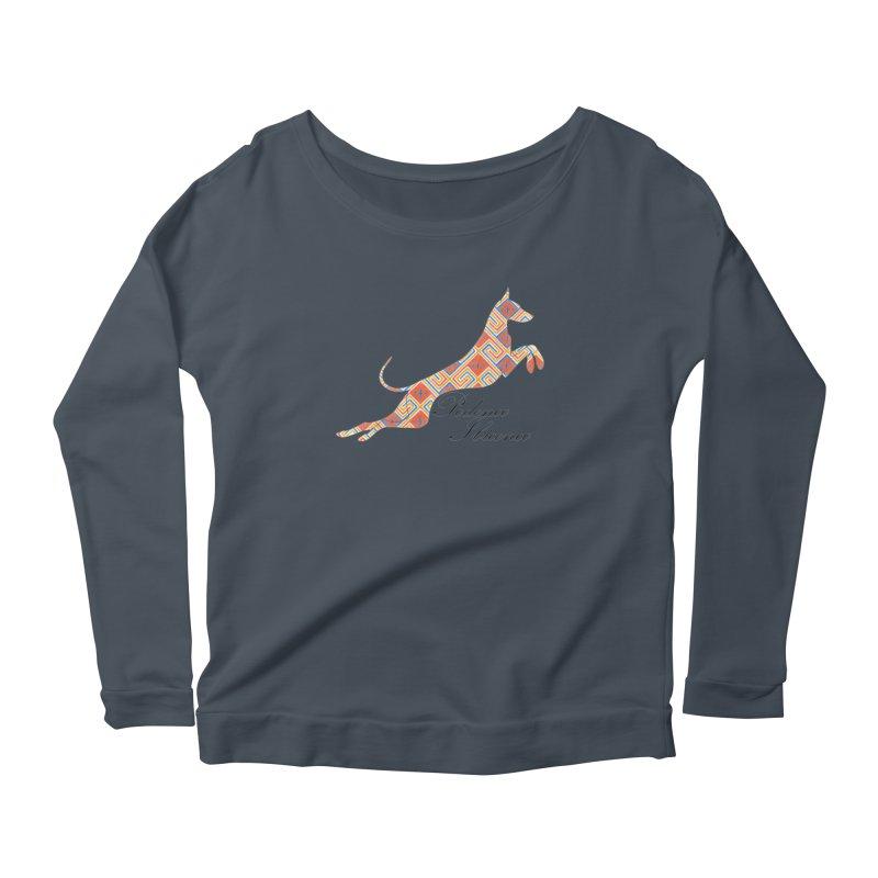 Ibizian hound Women's Longsleeve T-Shirt by ArtPharie's Artist Shop