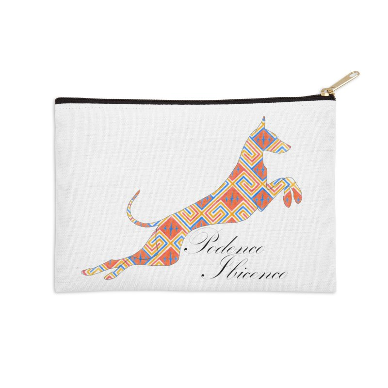 Ibizian hound Accessories Zip Pouch by ArtPharie's Artist Shop