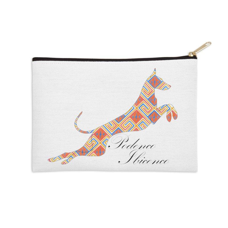 Ibizian hound Accessories Zip Pouch by ArtPharie's Artist Shop