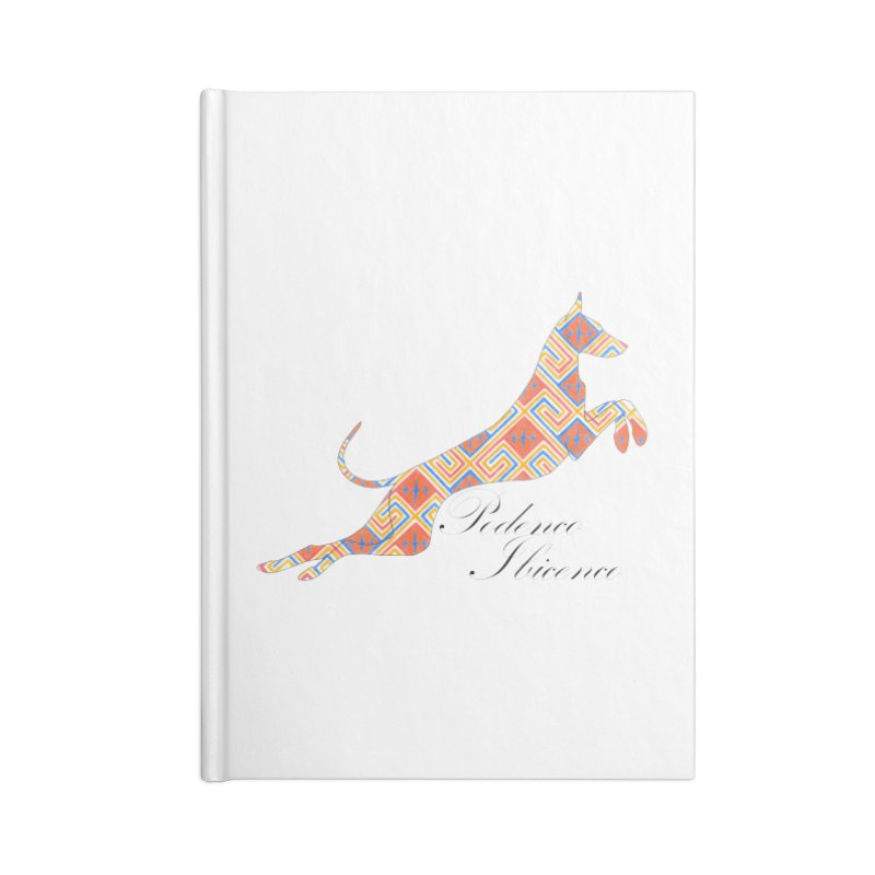 Ibizian hound Accessories Lined Journal Notebook by ArtPharie's Artist Shop