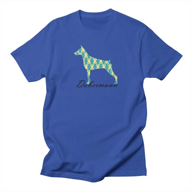 Dobermann Men's T-Shirt by ArtPharie's Artist Shop