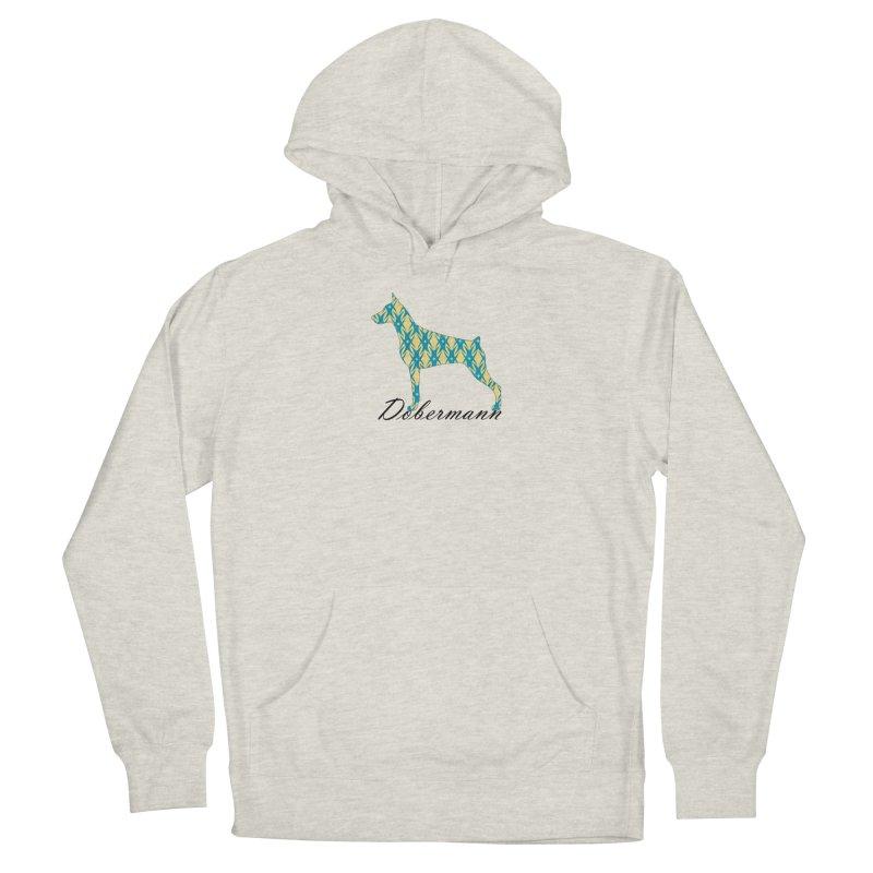 Dobermann Men's Pullover Hoody by ArtPharie's Artist Shop