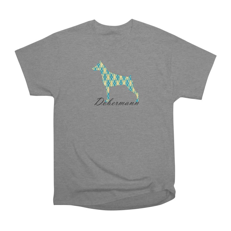 Dobermann Women's Heavyweight Unisex T-Shirt by ArtPharie's Artist Shop