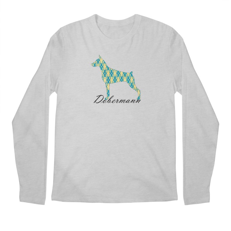 Dobermann Men's Longsleeve T-Shirt by ArtPharie's Artist Shop