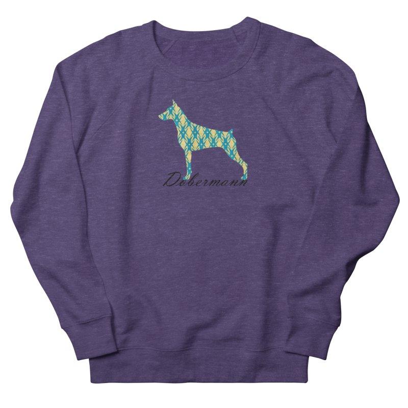 Dobermann Men's Sweatshirt by ArtPharie's Artist Shop